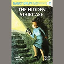The Hidden Staircase: Nancy Drew Mystery Stories 2 Audiobook by Carolyn Keene Narrated by Laura Linney