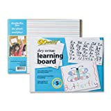 GoWrite! Dry Erase Learning Boards, 8.25-Inches by 11-Inches, 5 Boards (LB8511)