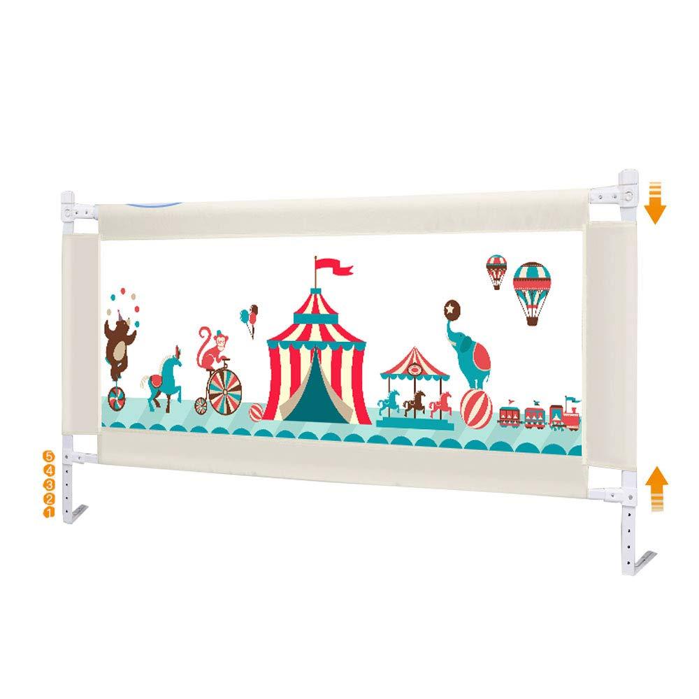 ベビーフェンス エキストラロングベビーベッドレールの高さ7488cm - 幼児/子供、丈夫でしっかりとした固体のための縦の持ち上がる単一の幼児のベッドの監視柵の子供の安全 ベビー家具 180cm(70.9 inch)  B07TXNGBQ4