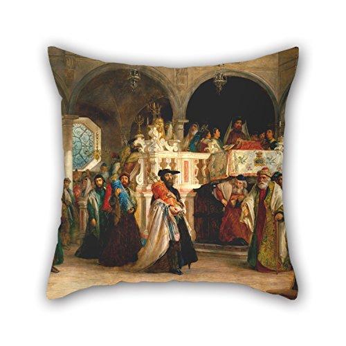 Artistdecor Oil Painting Solomon Alexander Hart - The Feast