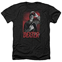 Dexter Crime Drama Television Series Under The Mask Adult Heather T-Shirt Tee