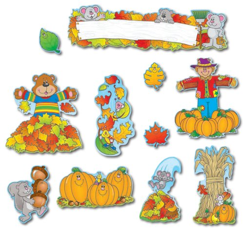 Carson Dellosa Fall Bulletin Board Set (Fall Classroom Decorations)