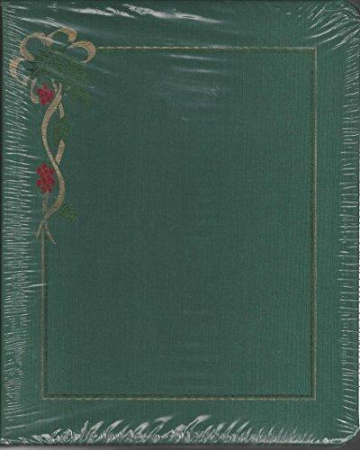 Creative Memories Rare Green Holiday 1996 Christmas Album Scrapbook 8