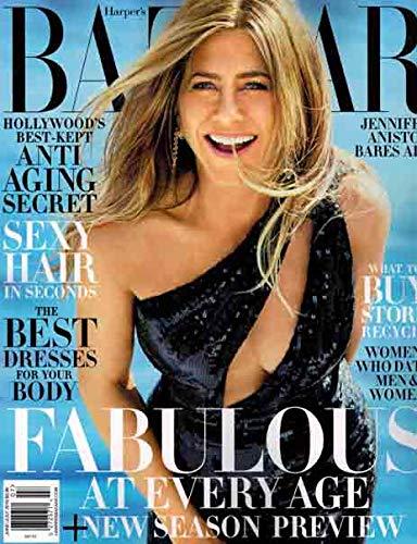 Harper's Bazaar Magazine (June/July 2019) Jennifer Aniston Cover