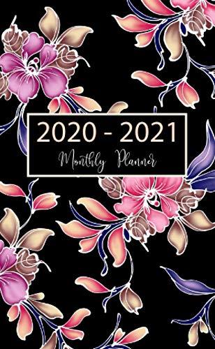 2020-2021 Monthly Planner: 24-Month Pocket Planner & Calendar. Size: 4.0