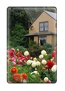 Defender Case For Ipad Mini/mini 2, Garden House Oregon Pattern