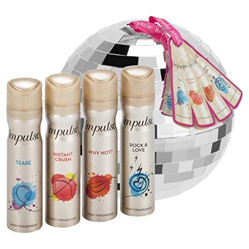 Impulse Glitter Ball Gift Set Unilever UK Limited 8710908819971