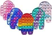 Fidget Sensory Toy, LEERUI Bubble Popper Squeeze Sensory Toys, Autism Special Needs Stress Reliever, Silicone