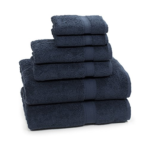 Linum Home Textiles SN50-6C Bath Towel, Navy by Linum Home Textiles (Image #1)