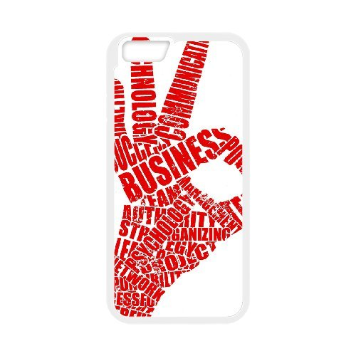 """SYYCH Phone case Of Fashion Design Hand Gesture 1 Cover Case For iPhone 6 (4.7"""")"""
