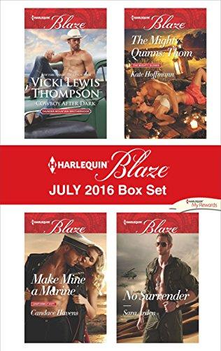book cover of Harlequin Blaze July 2016 Box Set