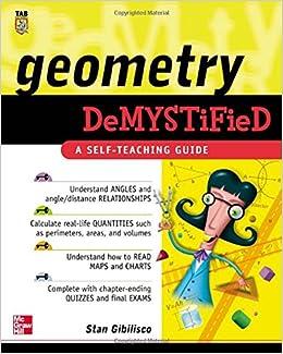 Geometry Demystified: Stan Gibilisco: 0639785504467: Books - Amazon ca