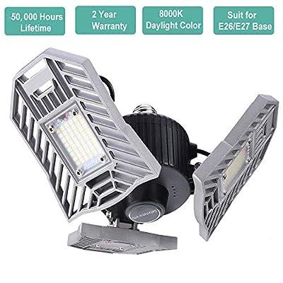 LED Garage Lights, LED Garage Lighting Deformable Light