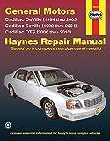 GM: Cadillac Deville '94 thru '05, Seville '92 thru '04 & DTS (Haynes Repair Manual)