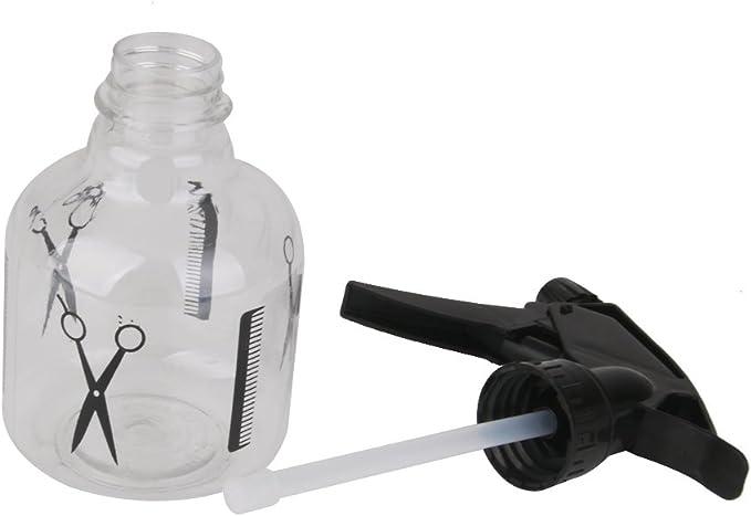 perfk 250 ml aerosol plástico accesorio de salón de peluquería ...