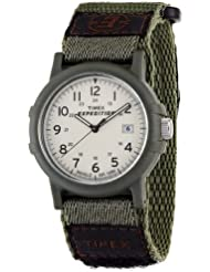Timex Mens T49725 Expedition Camper Green Fast Wrap Velcro Strap Watch