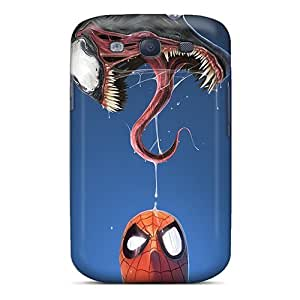 Faddish Phone Spiderman And Venom Case For Galaxy S3 / Perfect Case Cover