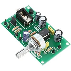 5w amplifier with microphone pre amp kit musical instruments. Black Bedroom Furniture Sets. Home Design Ideas