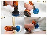 RevoClean 4 Piece Scrub Brush Power Drill