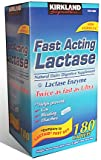 Kirkland Signature Fast Acting Lactase – 180 Caplets For Sale