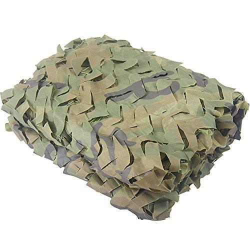 Camo Netting 6.56ft x 9.8ft Woodland Camouflage net