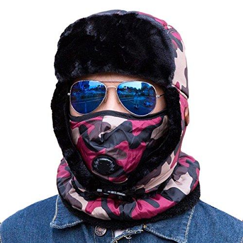 Esquí Hombre Sombrero Invierno Prueba Para A Para Senderismo Unisex De Winter Para Bombero Mujer De Caliente Unisex Ushanka De De Beige Cubierta Flap Esquí Gorro Ear Patinaje De Viento rIw8qZrF