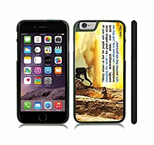 """iStar Cases? iPhone 6 Plus Case with """"Hello, I'm Awesome"""" Nametag, Funny Design, Black Text, Red and White Nametag , Snap-on Cover, Hard Carrying Case (White)"""