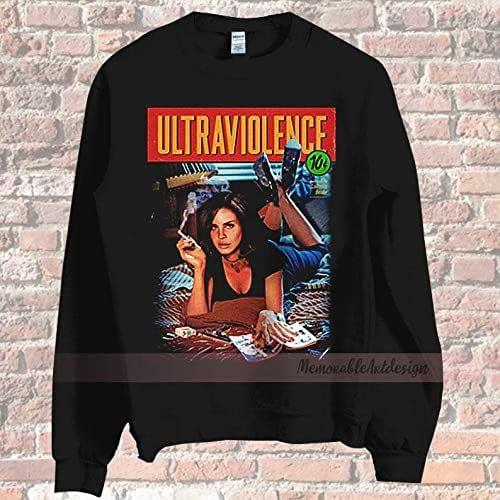 New Lana Del Rey Ultraviolence American Singer Men/'s Black T-Shirt Size S to 3XL