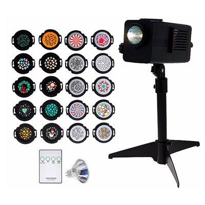 Mr. Christmas Lightshow Projector with Motion and 20 Discs - Amazon.com: Mr. Christmas Lightshow Projector With Motion And 20