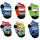 Thomas the Train & Friends Boys 6 pack Gripper Socks (Toddler)