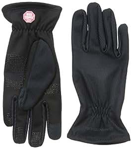 Manzella Women's Silkweight Windstopper Ultra Touch Gloves, Small, Black