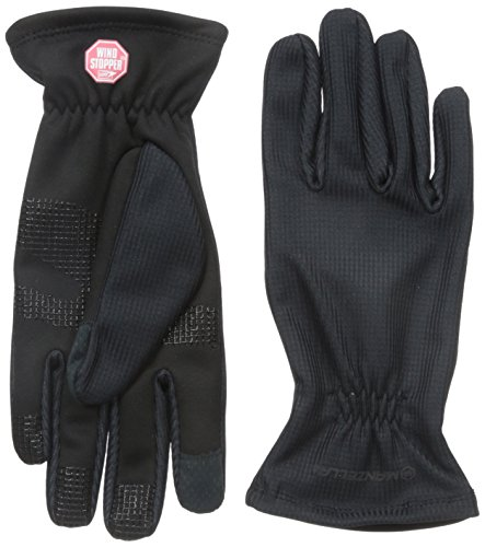 Womans Windstopper (Manzella Women's Silkweight Windstopper Ultra Touch Gloves, Medium, Black)