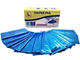 Diaper Pail Refills (800 Diapers, 32 Bags) Seal and Toss Refill Bags Compatible with All Munchkin Diaper Pails