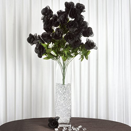 Efavormart 96 Extra Large Artificial Roses Buds Bushes We...