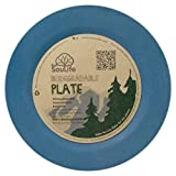 """EcoSouLife Biodegradable Dining Side Plates (7.8"""")"""