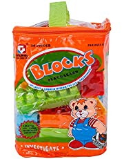 34-Piece Building Blocks With Tote Bags Building Set
