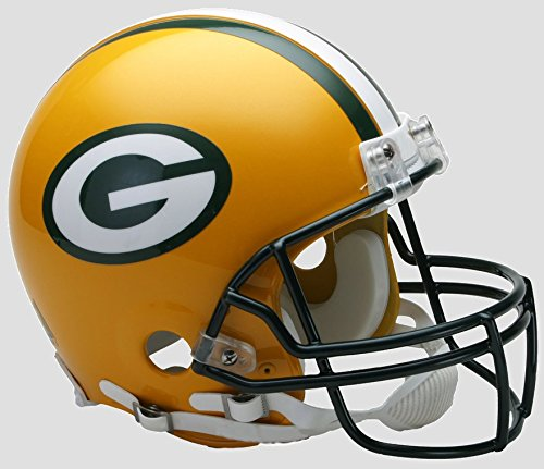 - NFL Green Bay Packers Full Size Proline VSR4 Football Helmet