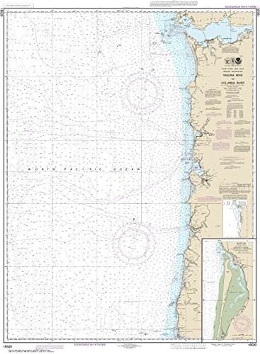(MapHouse NOAA Chart 18520 Yaquina Head to Columbia River;Netarts Bay: 44.02