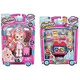 "Shopkins S8 Shoppie ""Pinkie Cola Visits America"" + Season 8 Americas 12-Pack!"