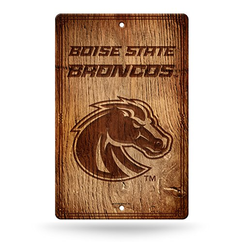 Boise State Football Gear (NCAA Boise State Broncos Fantique Wall Sign)