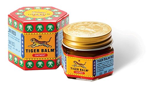 Tiger Balm Red Extra Strength Pain Relieving Ointment,19.4gx3