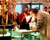 """NICOLETTE SCORSESE Autographed/Signed Chevy Chase/Christmas Vacation 8x10 Photo with Special Inscription """"Cant See the Line"""""""
