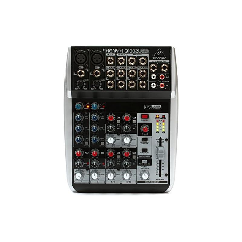BEHRINGER Q1002USB Premium 10-Input 2-Bu