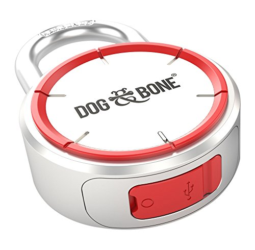 Dog & Bone LockSmart Keyless Lock Bluetooth Padlock - Dog Lock
