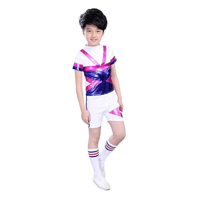 Amazon.com: Niños niñas disfraz de animadora Alegría escuela ...