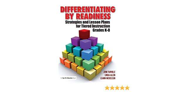 Amazon Differentiating By Readiness Strategies And Lesson