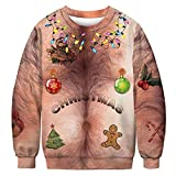 URVIP Unisex Halloween Christmas Themes 3D-Print Athletic...