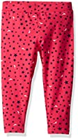 Scout + Ro Big Girls' Printed-Star Jersey Capri Legging, Lollipop, 12
