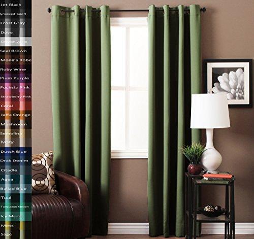 grommet top drapes - 9