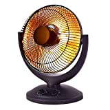Electric Parabolic Oscillating Infrared Radiant Space Heater W/Timer Home office- Sold By Online Discounts Gifts!